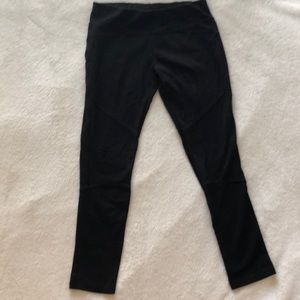 DKNYC black stretch pants